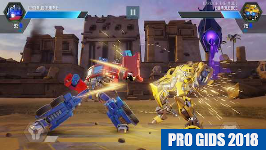 Gids TRANSFORMERS Forged to Fight 2018 FREE 6