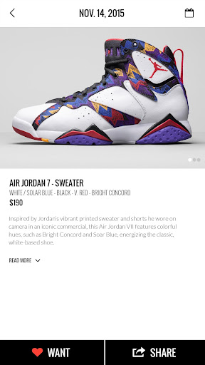 KicksOnFire: Shop, Release Calendar & Price Guide screenshot