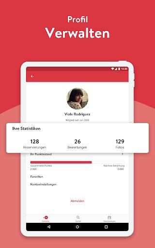 OpenTable - Online Reservieren screenshot 11