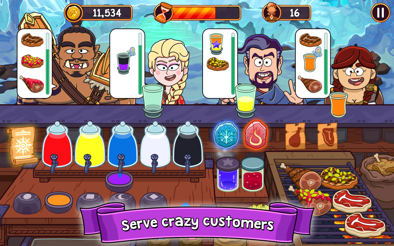 Potion Punch- screenshot