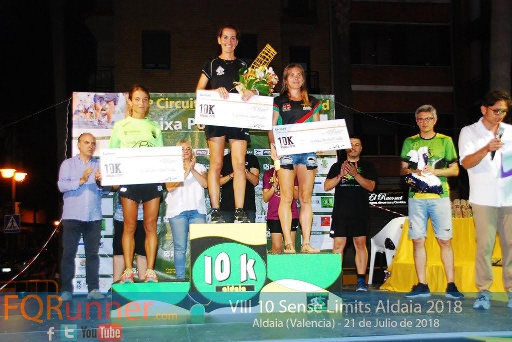 podium femenino Aldaia