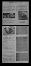 Photo: The above article was published in the July 2011 edition of The Chess Collector, and was intended as a light-hearted look at made-up sets from a specific angle.  The same issue contained articles by Milissa Ellison and Alan Dewey. The former looked at the use of new technology and standardization/repetition in the C19th and the latter a practical look at how Barleycorn Chess sets were made. As I read it, Alan's initial thought that they were made on more complex ornamental lathes involving regular repetition of pattern/decoration was not borne out in practice, the inevitable conclusion being that much decoration etc was still applied 'by eye' leading to some error and fudging.  I have long thought this might have been the case, as we are talking of commercial firms producing for profit and employing the cheapest/quickest techniques. It did however lead me to wonder how much variation in pieces can be accepted as within this concept and the extent to which it affects our ideas of 'made-up' sets.