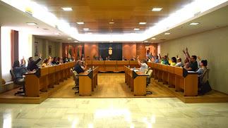 Votación  favorable de todos los grupos al inicio de los trámites para el rescate del servicio de aguas en el municipio de El Ejido.