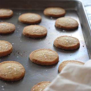 Rosemary Sea Salt Shortbread Cookies.