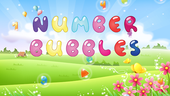 Number Bubbles - Learning Numbers Game for Kids 🔢 Screenshot