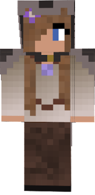 Medieval skin for my current survival game, she is adorable ♥
