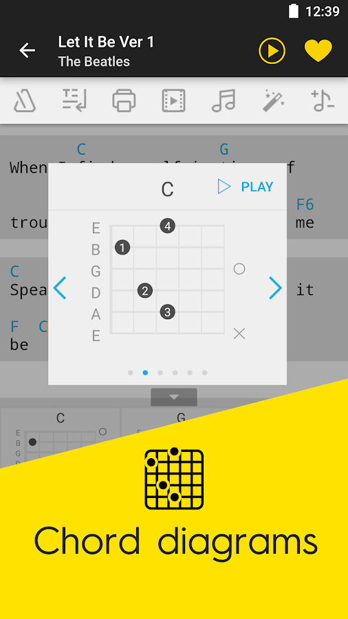 Ultimate Guitar Tabs u0026 Chords - Android Apps on Google Play
