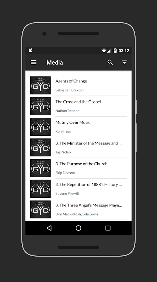 GYC App- screenshot