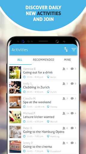 Spontacts: Free Time Activities & Events Near You Apk 2