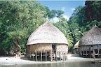 nicobarese hut