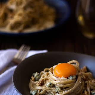 Blue Cheese Walnut Pasta.