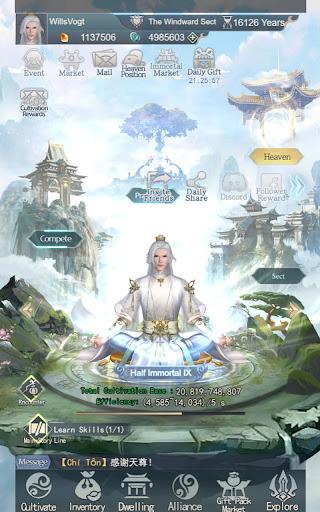 Immortal Taoists-Idle Game of Immortal Cultivation 1.4.6 screenshots 6