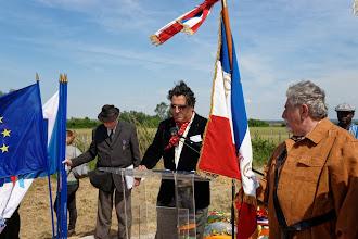 Photo: Jérôme Bonin, l'un des nouveaux organisateurs de la commémoration de Saliers...