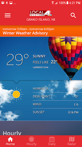 KSNB Local4 Weather 5.0.600 screenshots 1