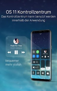 X Launcher: Phone X Thema, IOS11 Kontrollzentrum Screenshot