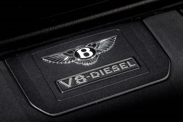 The V8 diesel produces 320kW and 900Nm