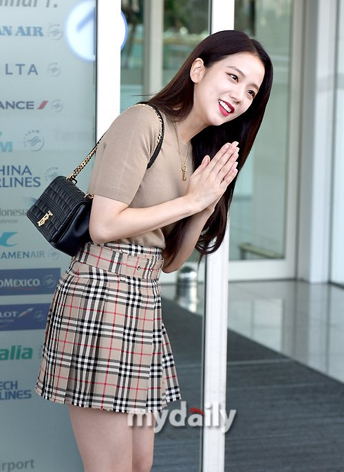 jisoo plaid 26