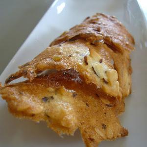 Crunchy Hazelnut Tuiles
