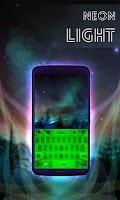 Screenshot of Neon Light Keyboard