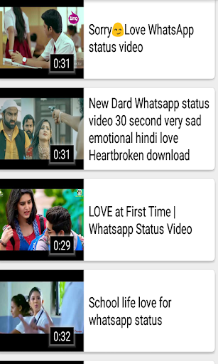 Download Love Video Song Status 2018 Google Play softwares