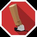 Stop smoking helper icon
