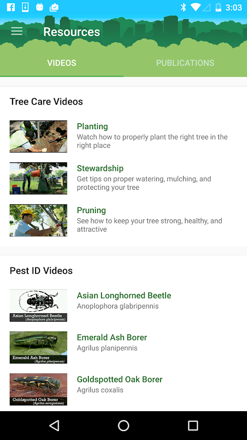 Healthy Trees Healthy Cities- screenshot