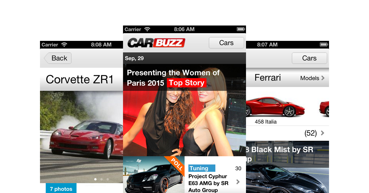 CarBuzz - Daily Car News- screenshot