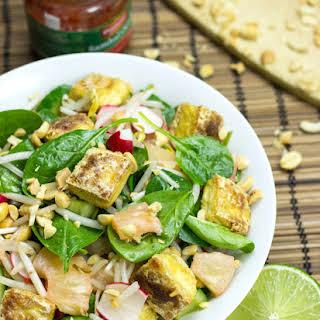 Asian Tofu Salad.