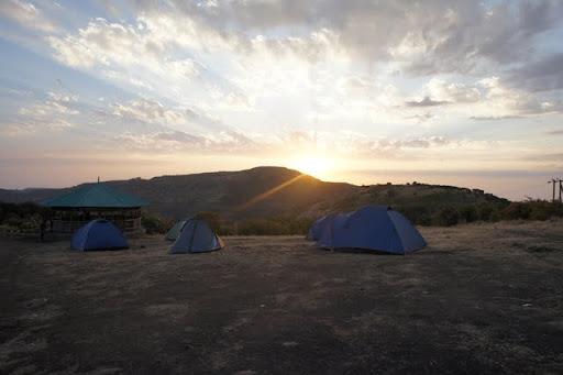 Sunset at Sankaber Camp