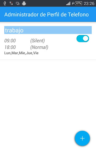 【免費個人化App】Manager Perfil de Telefono-APP點子