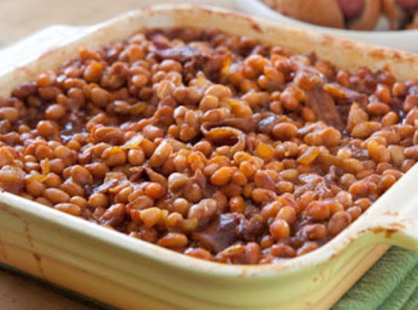 Potluck Baked Beans Recipe