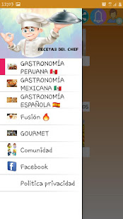 Recetas del chef for PC-Windows 7,8,10 and Mac apk screenshot 2