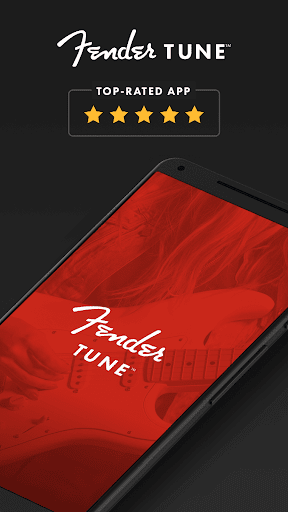 Free Guitar Tuner - Fender Tune 3.4.0 Screenshots 1