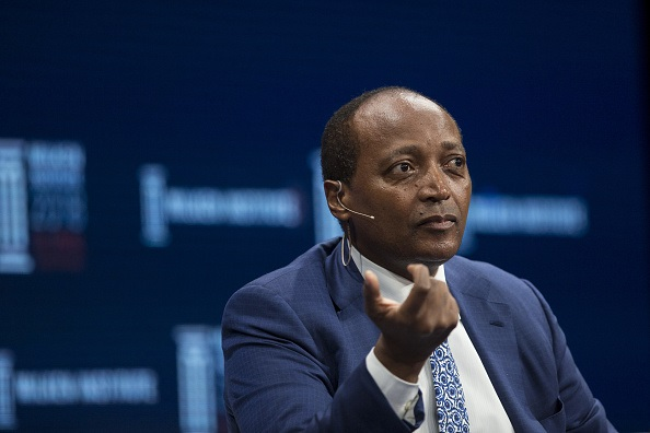 African Rainbow Minerals chairman Patrice Motsepe.