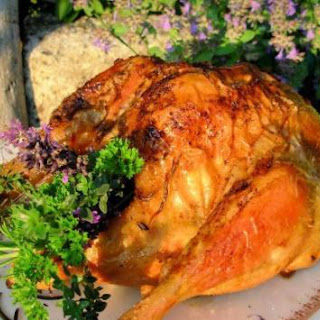 Lavender and Honey Roasted Chicken