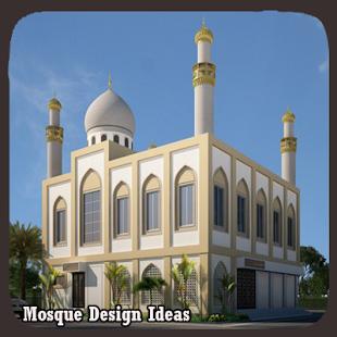 Náměty na návrh mešity - náhled