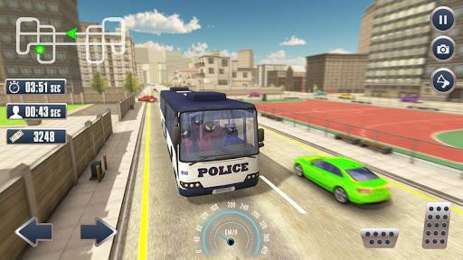 Prison Stickman Transport Police Van ss1