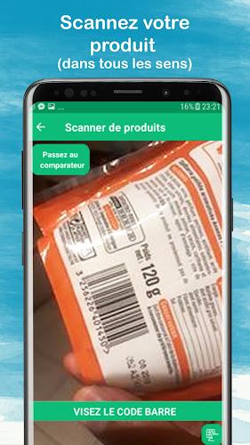 BuyOrNot - Scan de produits Android App Screenshot