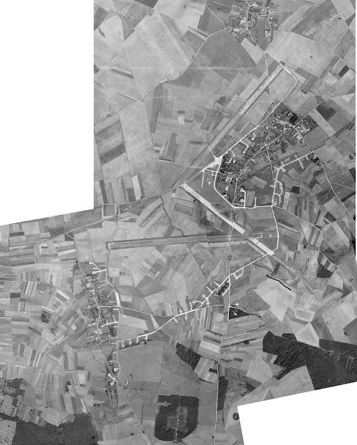 Vue aerienne en 1947