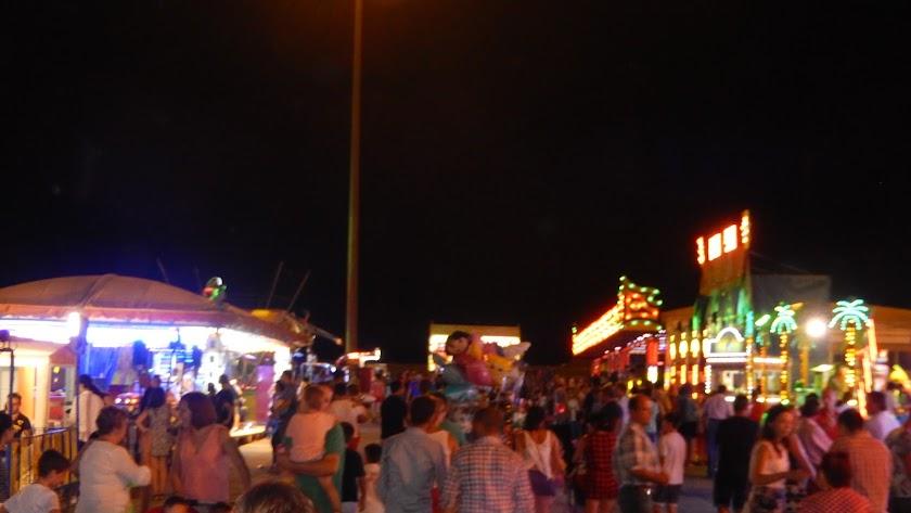 Imagen de una de las fiestas celebradas en 2018 en el municipio de Níjar.