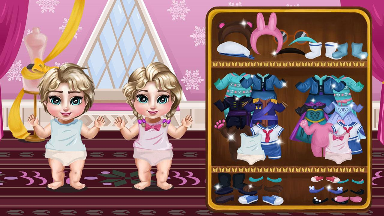Princess Elsa Twins Care Apl Android Di Google Play