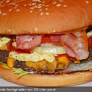 "Cheeseburger ""Bavarian Style"""