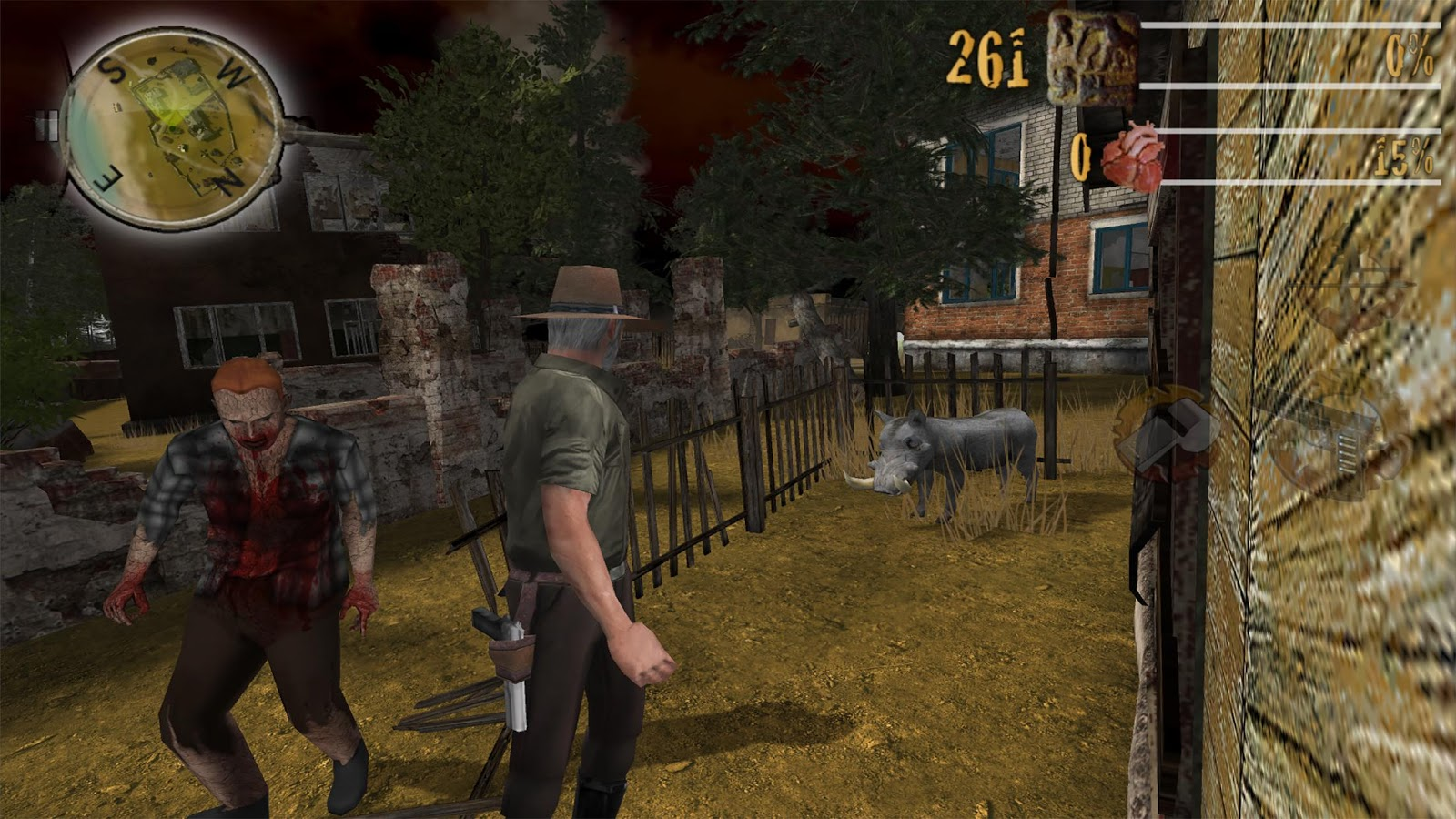 Zombie Fort Safari Unlocked- screenshot