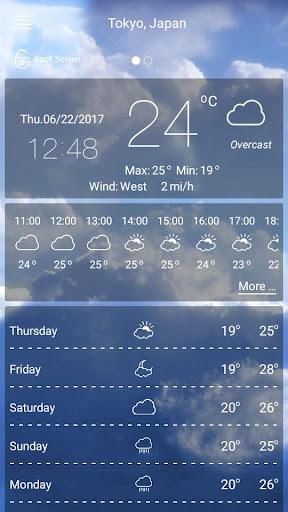 Prévisions météorologiques screenshot 8