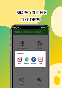 Free Barcode Scanner to Excel 3