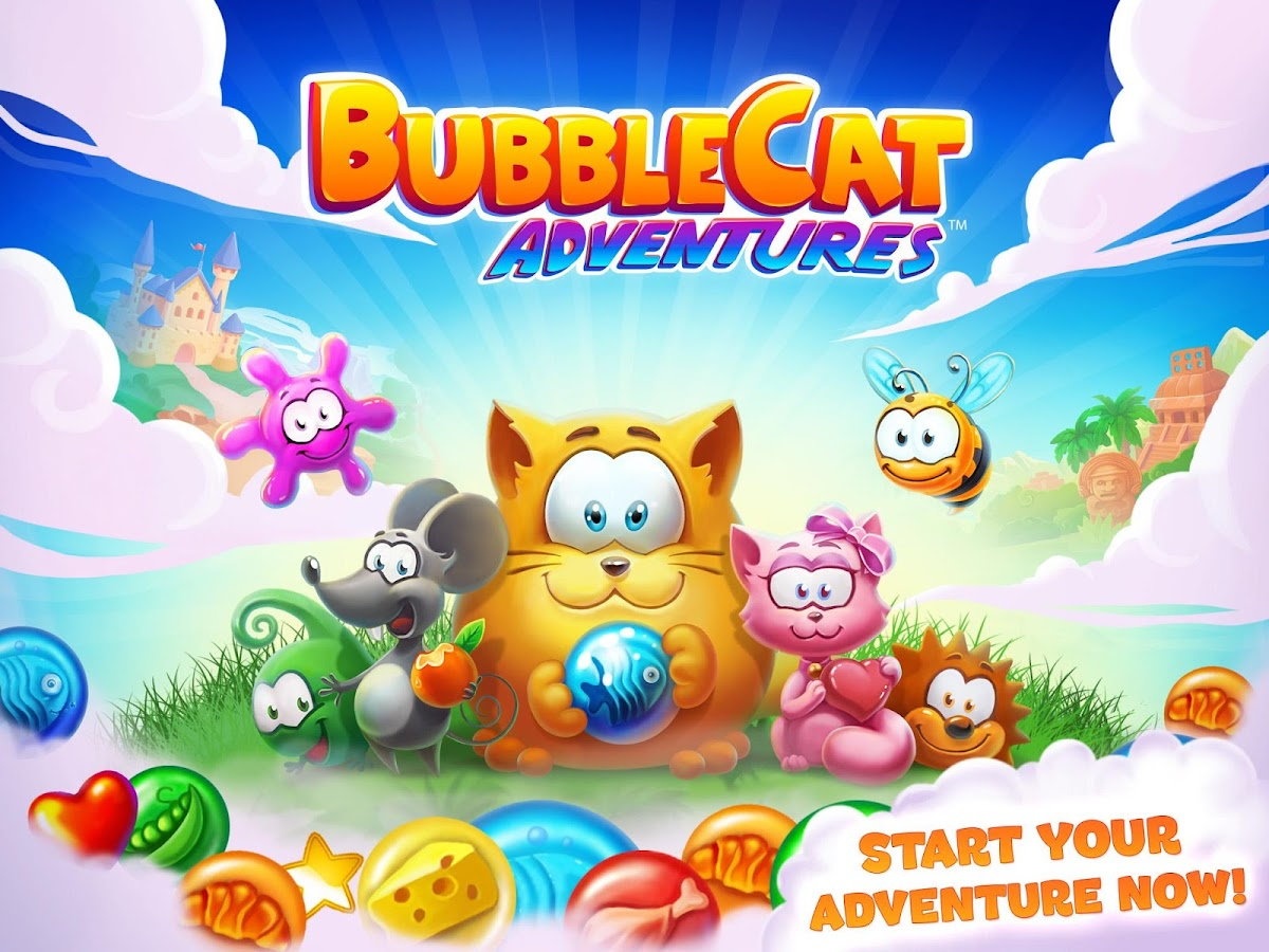 Bubble Cat Adventures- screenshot