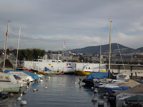Photo: Geneva shoreline