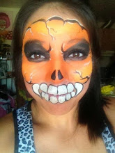 Photo: Halloween face painting by Veronica, Riverside, Ca Call to book Bibi today: 888-750-7024