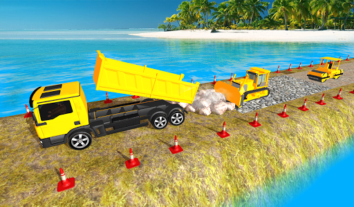 Real City Road Construction 3D filehippodl screenshot 1