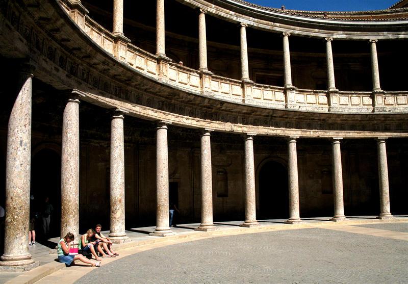 palacio de carlos v; click for previous post